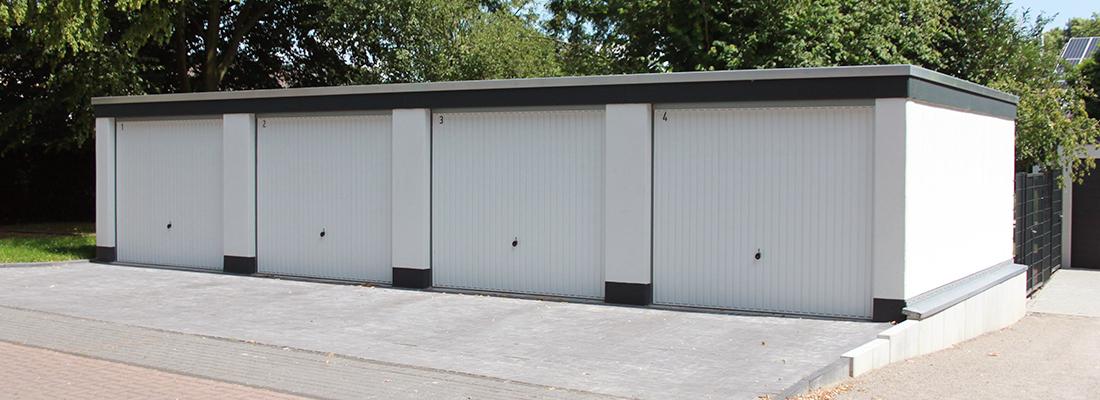 Wir bauen Ihre Garage